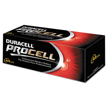 AA Battery Procell Alkaline 4 each/pack  6 packs/box