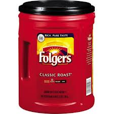 640900 Folgers Classic Roast Coffee 51oz/canister